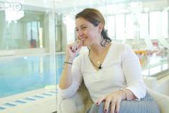 """Video - Anca Grecu: """"Un copil care învață să înoate încă din primii ani de viață primește o șansă enormă de a fi mai puternic!"""""""